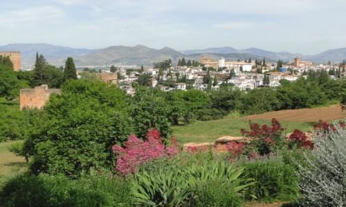 Zdjecie HISZPANIA / Andaluzja / Granada / W ogrodach Alhambry.