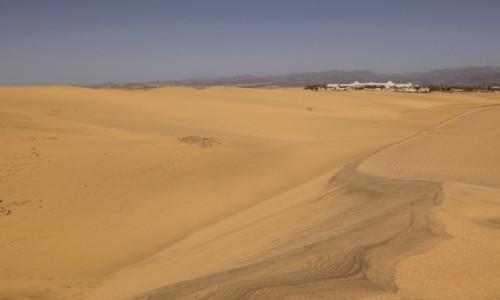 Zdjecie HISZPANIA / Wyspy Kanaryjskie - Gran Canaria / Dunas de Maspalomas / kraina piachu