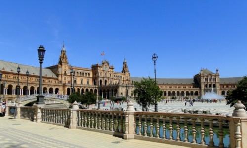 HISZPANIA / Andaluzja / Sewilla / Plac Hiszpański
