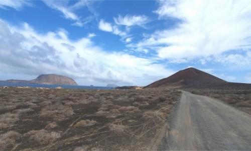 Zdjecie HISZPANIA / Wyspy Kanaryjskie / La Graciosa / Droga na La Graciosie
