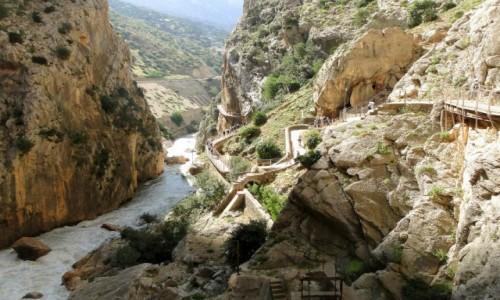 Zdjecie HISZPANIA / Andaluzja / El Chorro / Caminito del Rey.