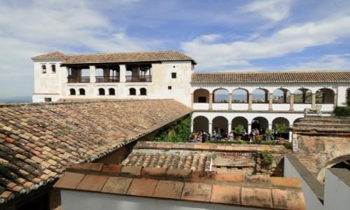 HISZPANIA / Andaluzja /  Granada / Alhambra