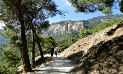 Zdjęcie HISZPANIA / Andaluzja / El Chorro / Caminito del Rey.