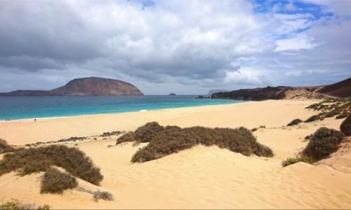 Zdjecie HISZPANIA / Wyspy Kanaryjskie / La Graciosa / Playa De Las Conchas