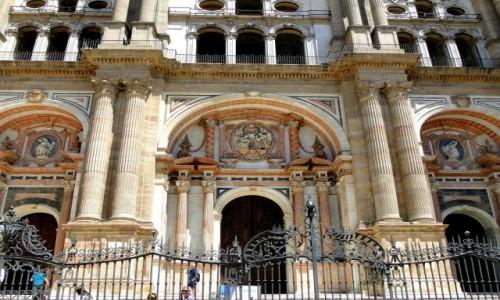 Zdjecie HISZPANIA / Andaluzja / Malaga / Katedra w Maladze.