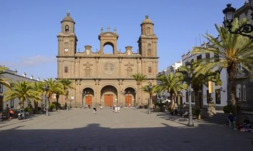Zdjecie HISZPANIA / Gran Kanaria / Las Palmas  / Plaza de Santa Ana