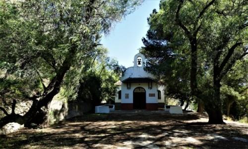 Zdjęcie HISZPANIA / Andaluzja / El Chorro / Kaplica Matki Bożej