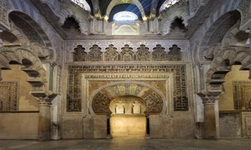 Zdjęcie HISZPANIA / Andaluzja / Kordoba / La Mezquita - Wielki Meczet, detale
