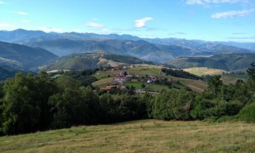 HISZPANIA / Asturia / Tineo / Górki