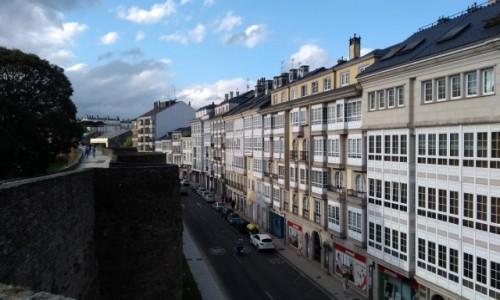 Zdjecie HISZPANIA / Galicja / Lugo / Widok z murów miejskich
