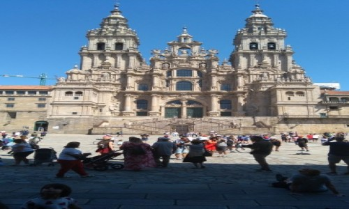 HISZPANIA / Galicja / Santiago de Campostela / Katedra św. Jakuba
