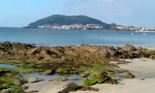 Zdjęcie HISZPANIA / Galicja / . / Finistera - widok z plaży