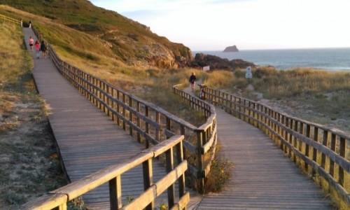 Zdjęcie HISZPANIA / Galicja / Finistera / W drodze na plażę Cantalarrana