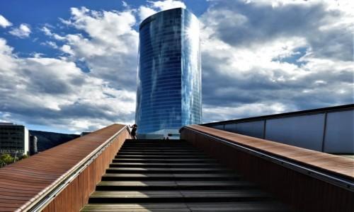 Zdjęcie HISZPANIA / Kraj Basków / Bilbao / Schody
