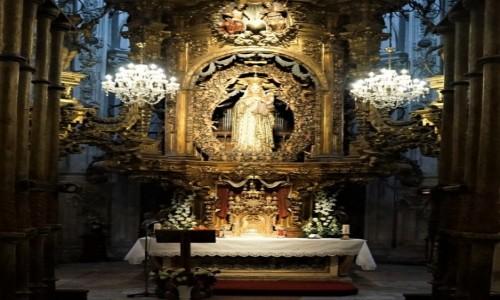 Zdjęcie HISZPANIA / Galicja / Lugo / Katedra w Lugo - Kaplica Matki Bożej