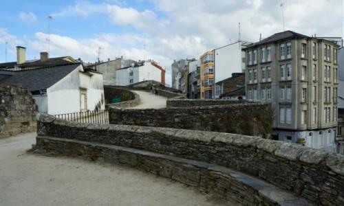 Zdjęcie HISZPANIA / Galicja / Lugo / Mury starego miasta