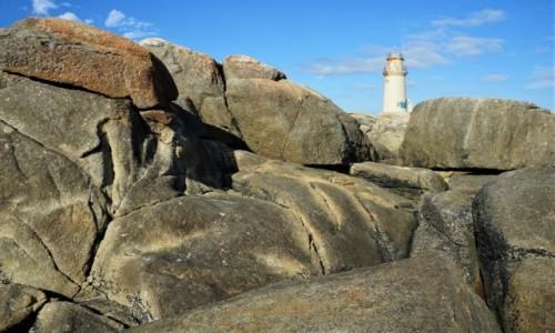 Zdjęcie HISZPANIA / Galicja / Muxia / Na kamiennej plaży