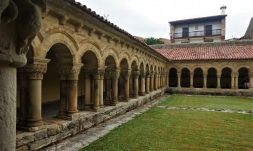 Zdjęcie HISZPANIA / Cantabria / Santilliana del Mar  / Kolegiata i klasztor św. Juliana