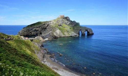 HISZPANIA / Kraj Basków / San Juan de Geztelugatxe / W drodze do klasztoru