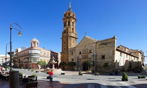 HISZPANIA / Andaluzja / Antequera / Kościół św. Sebastiana
