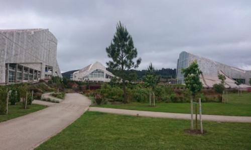 Zdjecie HISZPANIA / Galicia / Santiago de Compostela / Centrum Kultury Galicji