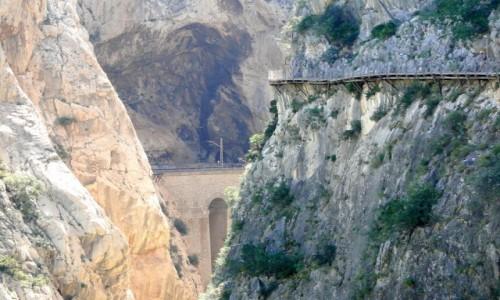Zdjecie HISZPANIA / Andaluzja / El Chorro / Wspomnienie z Caminito del Rey
