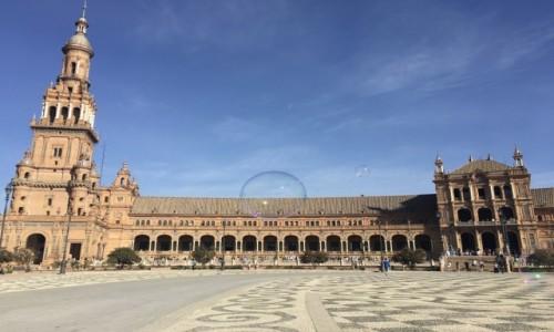 Zdjecie HISZPANIA / Sevilla  / Plaza de España  / Plac Hiszpański