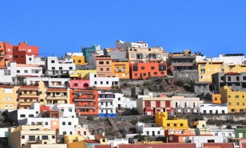 Zdjecie HISZPANIA / La Gomera / San Sebastian de la Gomera / Widok na wzgórze