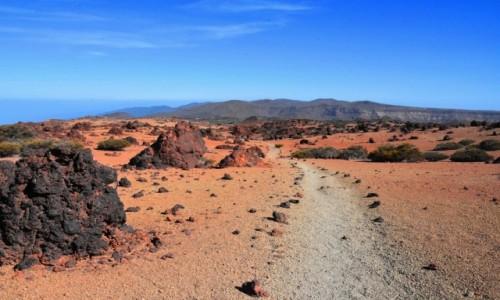 HISZPANIA / Teneryfa / Park Narodowy Teide / Spacer po parku