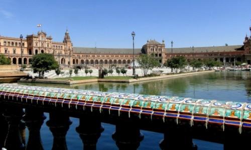 Zdjecie HISZPANIA / Andaluzja / Sewilla / Na Placu Hiszpańskim