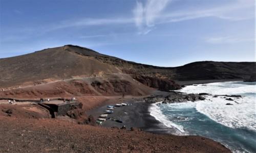 HISZPANIA / Wyspy Kanaryjskie / Parque Nacional de Timanfaya / Lanzarote, Parque Nacional de Timanfaya