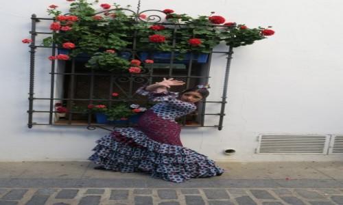Zdjecie HISZPANIA / Andalusia / Cordoba / Flamenco i kwiaty