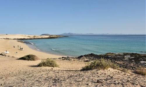 HISZPANIA / Fuertaventura / Corralejo / Corralejo, wydmy