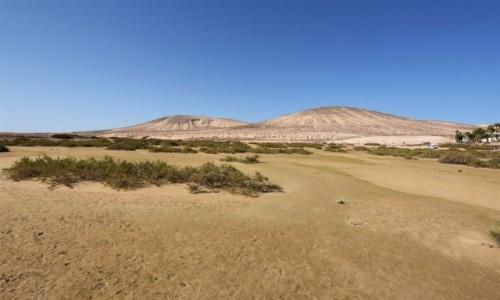 HISZPANIA / Wyspy Kanaryjskie / Playa de Sotavento de Jandía / Playa de Sotavento de Jandía