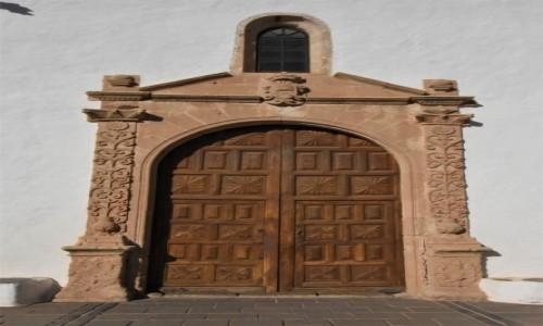 HISZPANIA / Fuerteventura / Betancuria / Betancuria
