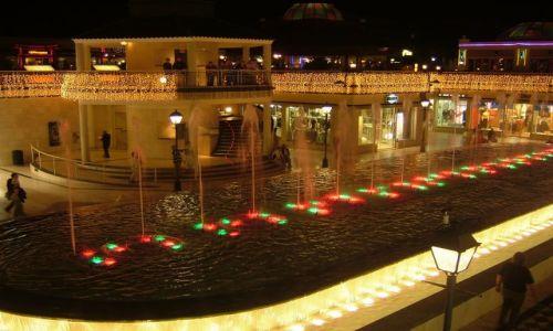 Zdjecie HISZPANIA / Teneryfa / Las Americas / grające fontann