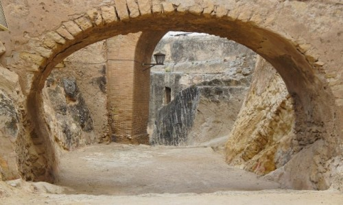 HISZPANIA / Alicante / Zamek św. Barbary / Na zamku