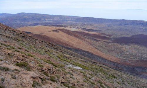 Zdjecie HISZPANIA / Teneryfa / Teide / zbocze wulkanu