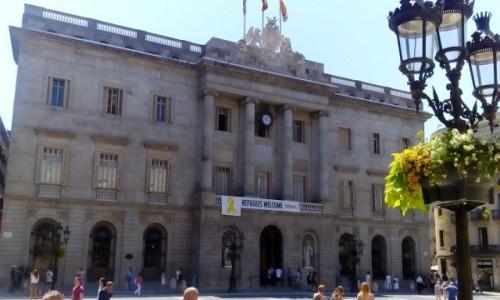 Zdjecie HISZPANIA / Katalonia / Barcelona / Ratusz w Barcelonie