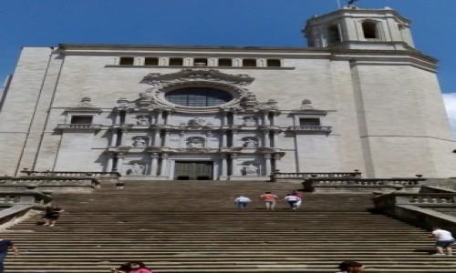 Zdjecie HISZPANIA / Katalonia / Girona / Katedra w Gironie
