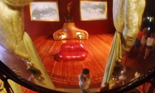 Zdjecie HISZPANIA / Katalonia / Figueres / Mae West w wersji Salvadora Dali