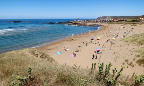 Zdjecie HISZPANIA / Asturia / Aviles / Jedna z plaż Costa Verde
