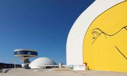 Zdjecie HISZPANIA / Asturia / Aviles / Centro Niemeyer