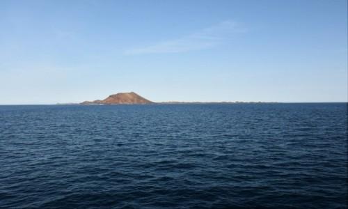 Zdjęcie HISZPANIA / Fuertaventura / Corralejo / Lobos, widok z Corralejo