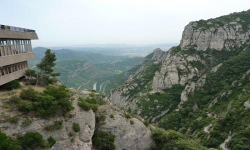 Zdjecie HISZPANIA / Katalonia / Montserat / Panorama widokowa z Montserat