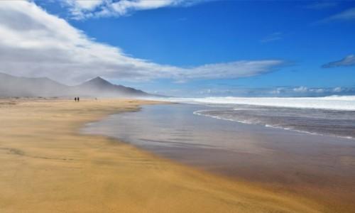 HISZPANIA / Fuertventura / Cofete / Plaża Cofete
