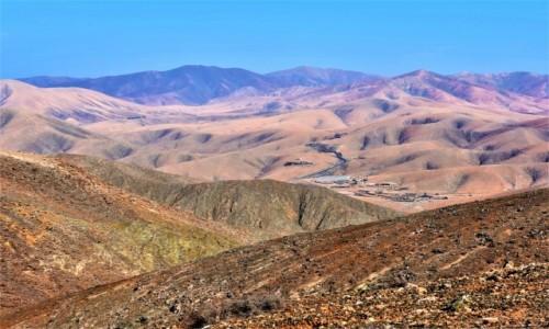 Zdjecie HISZPANIA / Fuertventura / interior, widziane po drodze do Ajuy / Po drodze do Ajuy