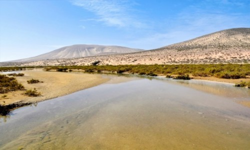 Zdjecie HISZPANIA / Fuertventura / okolice Morro Jable / Playa de las Coloradas