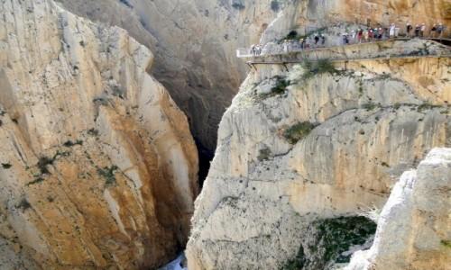 Zdjecie HISZPANIA / Andaluzja / El Chorro / Na Ścieżce Króla