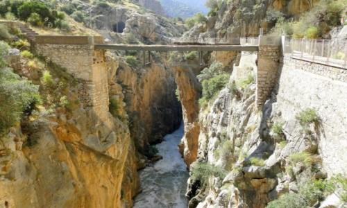 Zdjecie HISZPANIA / Andaluzja / El Chorro / El Caminito del Rey